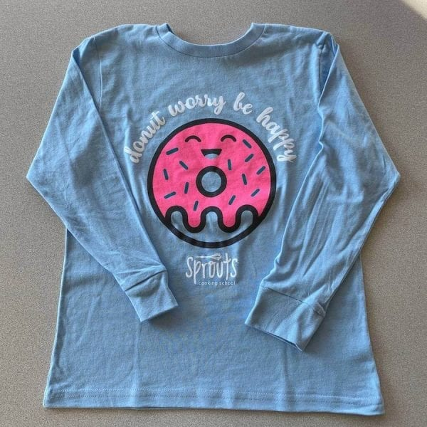 Donut Worry Be Happy Shirt 800